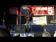 I Am A Patriot - Jackson Browne - Madison, WI - Get Out The Vote Rally
