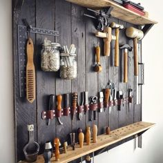 Small Garage Organization- CLICK THE PIC for Lots of Garage Storage Ideas. #garage #garageorganization