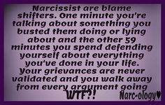 They're quick to shift blame.  #narcissist #psychopath #sociopath #narco #narcology #narcissism #pathologicalliar #liar #noconscience #narcissistrecovery #narcissisticabuse #narcissisticrecovery #nocontact