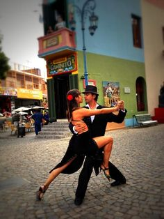 Tango Dancers by Lisa Bettany on her amazing iPhone photo adventure across 5 continents!