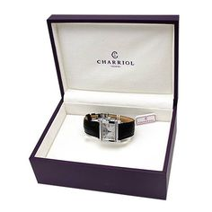 Bidz.com Listing #101619661 : CHARRIOL Made in Switzerland Brand New Date Watch Made of Play of Color Mother of pearl
