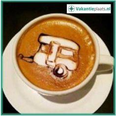 Maandagochtend ... weer een nieuwe werkweek.  www.vakantieplaats.nl | Vraag & Aanbod | Gratis adverteren met alles op vakantiegebied. #koffie #caravan #vakantie #maandag