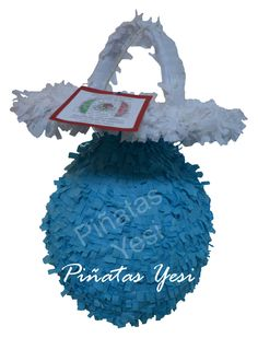 Piñata artesanal hecha a mano al estilo tradicional mexicano de Chupete