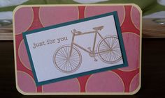 Bicycle built for you Card. $2.50, via Etsy.