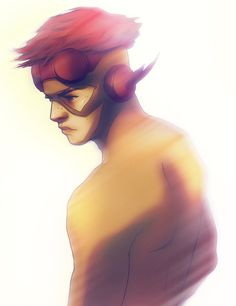 Kid Flash by Andra Hilde Beast Boy, Wallace West, Dc Comics, Robin, Wayne Family, Birdflash, Fictional Heroes, Fastest Man, Young Justice
