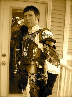 Nick's Jaime Lannister Armor - Game of Thrones Costume - Song of Ice and Fire by Futuregirl_LeahRiley, via Flickr