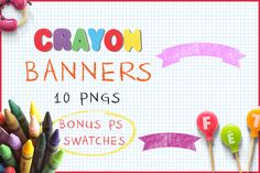 Download Crayon Banners  @creativework247