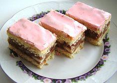 Punčový koláč recept - TopRecepty.cz Czech Recipes, Tuna, Baked Goods, Cheesecake, Fish, Baking, Pastries, Foods, Food Food