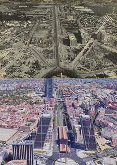 Madrid City Photo, Old Photography, Monuments, Cities, Fotografia, Floors