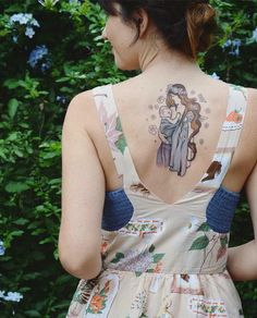 Breastfeeding and baby wearing tattoo! In love!