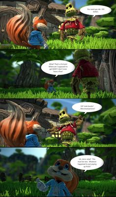 Proof that Conker has been gone too long.