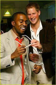 When Harry met Yeezy.