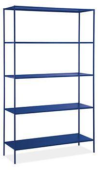 Slim Shelves in Colors