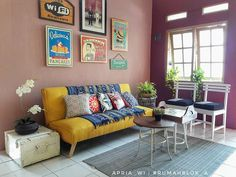 Colourful, quirky and totally cozy!
