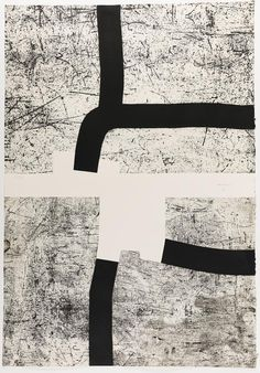 Artist: Eduardo Chillida (Spanish, Title: Bi-Aizatu , 1988 Medium: etching and aquatint Size: 141 x 98 cm. Art Works, Art Painting, Sculpture Art, Fine Art, Art Auction, Art, Abstract, Contemporary Art, White Art