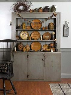 cupboard & redware