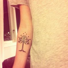 The white tree of Gondor, this will be my first tat, very soon.