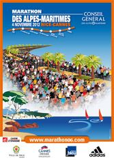 Uhh, honey, can we do this for our anniversary? MARATHON DES ALPES-MARITIMES - Nice-Cannes - November