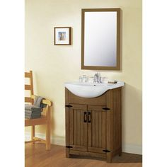 "Legion Furniture 24"" Single Vanity Set WLF6043"