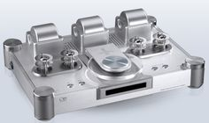 Shanling CDT-100mk2 cd player with tube output stage.
