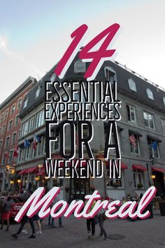 From enjoying the local eats to seeing the sights, Montreal has lots to offer for your next weekend vacation - 14 essential experiences for a weekend in Montreal Voyage Montreal, Montreal Travel, Montreal Ville, Montreal Vacation, Montreal Quebec, Paris Travel, Weekend Vacations, Weekend Trips, Winter Vacations