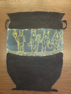 Large Scale (posterboard size) Greek Urn Resists