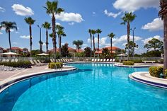 Relax by the pool after a day of enjoying emerald golf greens and sapphire ocean blues.  #SheratonPGAResort #Florida #Golf