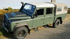 Land Rover Defender 130, Landrover Defender, Range Rover, Military Vehicles, Offroad, 4x4, Cool Photos, Classic Cars, Land Rovers