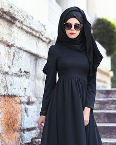 1a27d5b3c4f 2017 için en iyi 21 Elbise görüntüsü | Abayas, Beautiful hijab ve ...