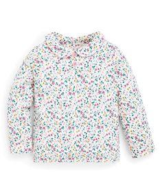 JoJo Maman bebe Jersey dress 6 months 3 yrs ditsy floral skirt stripe top short