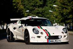 Lotus exige S1 old school - old english white by le mans sport cars (www.lmc.info)