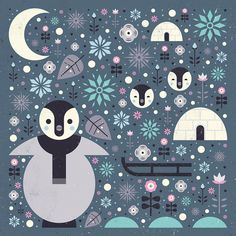 Carly Watts Art & Illustration: Penguins
