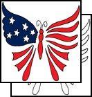 butterfly tattoo USA