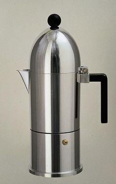 """Kannen-Architektur: Espressokocher """"La Cupola"""" von Aldo Rossi"""