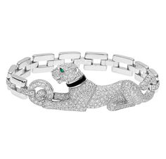 Iconic Jewelry:  Cartier's Panther.  I can't even express how in love I am with this piece & how long I've been in love with it.  If I won the lottery...