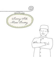 Micro bakery, illustrated by Johanna Kindvall