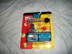 RARE DR STEVEN HAWKING THE SIMPSONS SERIES 13 ACTION FIGURE