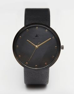ASOS+Watch+In+Black+With+Gold+Highlights