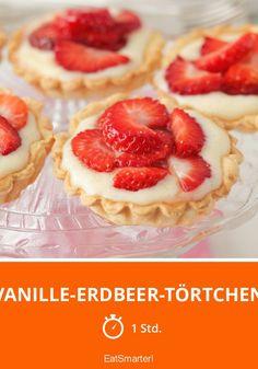 Vanille-Erdbeer-Törtchen - smarter - Zeit: 1 Std. | eatsmarter.de