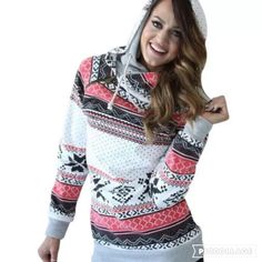 """Cozy up in this sweater through the holidays! With a side zip accent and double hood, it's a stand out piece.    Sizes S-XL    FABRIC: Broadcloth Cotton Poly    🍍Pre-Order Ends October 15th 11:59pm MST    🍍2-4 WEEK ETA    🍍FREE SHIPPING WHEN YOU SHARE THIS POST    AFTER SHARING,    ENTER PROMO """"SHARE""""   Shop this product here: http://spreesy.com/PaisleyPineapple/43   Shop all of our products at http://spreesy.com/PaisleyPineapple      Pinterest selling powered by Spreesy.com"""