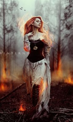 Great character inspiration for FELICIA. This is all I want. Fire. Fantasy. Magic. Love.