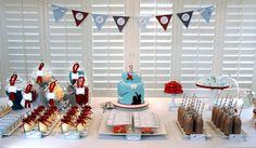 Aeroplane Airplane Birthday Party Theme