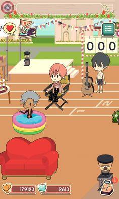 See that? FREE! COMPETITION  Iwatobi vs. Samezuka  notice me senpai game