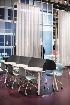 My Place table, design: Anders Berg, Steinar Hindenes, Petter Knudsen | Neo Lite chair/armchair, design: Fredrik Mattson