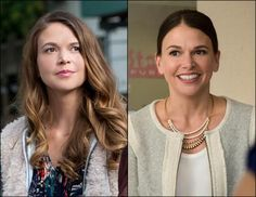 Sutton Foster dishes to Yahoo Beauty on how she plays a 40-year-old pretending to be a 26-year-old on 'Younger.'