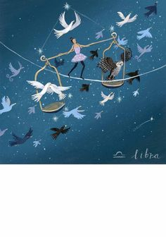 Libra  Limited to 195 fine art limited edition prints and 20 artist proofs; Each print is individually signed and numbered by Jenni and supplied with a certificate of authenticity.