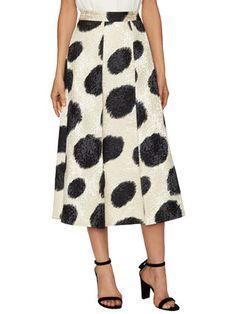 Monique Jacquard Full Skirt  by L.K.Bennett at Gilt