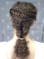 The Caryatid Hairstyling Project: recreating the hairstyles of ancient Greek caryatids Egyptian Hairstyles, Roman Hairstyles, Medieval Hairstyles, Modern Hairstyles, Cool Hairstyles, Historical Hairstyles, Long Hair Tips, Crazy Hair Days, Cut My Hair
