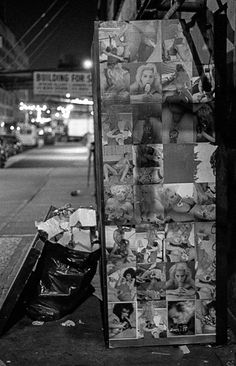 NEW YORK CITY 1990's - Photo archives by Gregoire Alessandrini: MEAT MARKET (Meat Packing District) 1990's