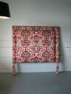 #bedroom #bed #headboard #fabric #textile #fabricheadboard i think fabric headboards are just gorgeous. GOREGEOUS